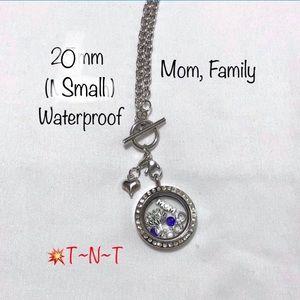Jewelry - Mom, Family Waterproof 20mm Living Locket